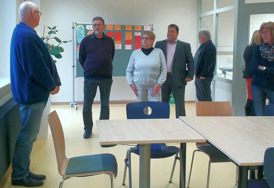 Kreistagsfraktion besucht das Pflege-Kompetenzzentrum