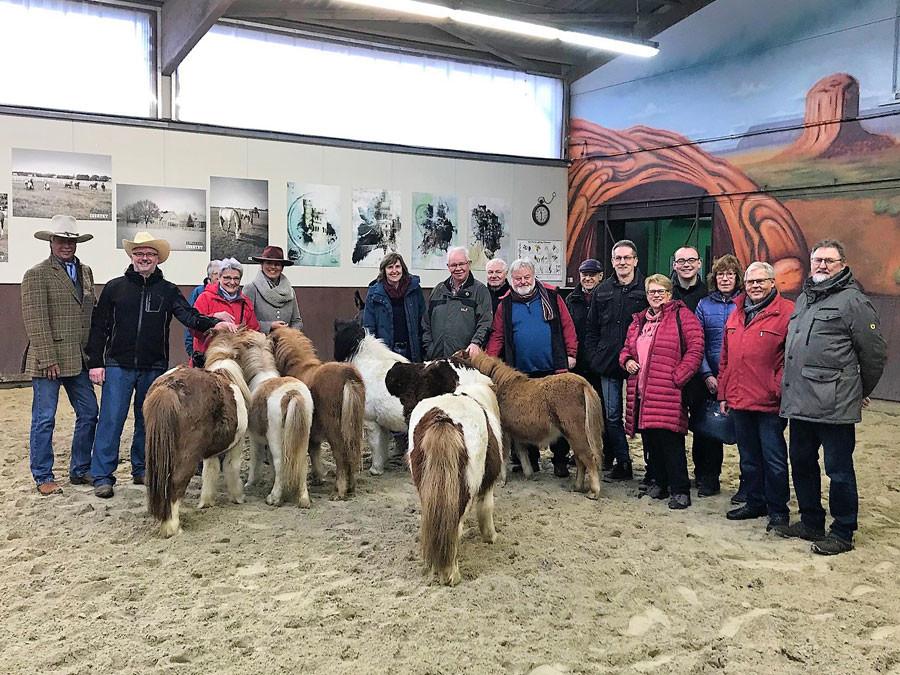 Bild vom Besuch der Ballermann-Ranch