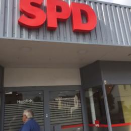 SPD-Logo am Haus