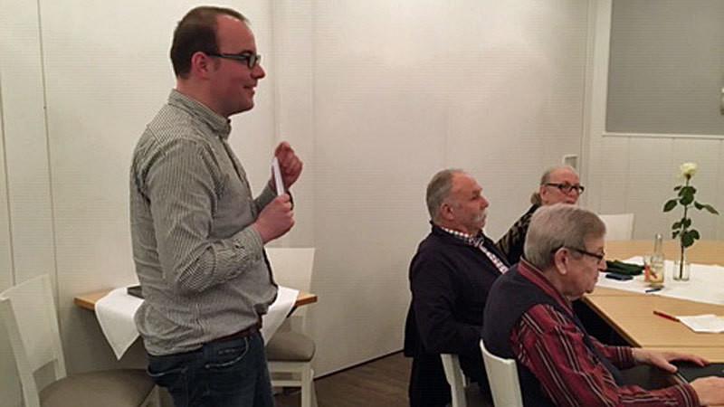 Ingo Estermann auf der 60plus-Konferenz