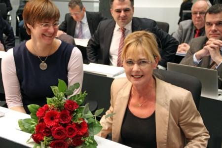 Foto: Dr. Thela Wernstedt, Luzia Moldenhauer,Dr. Christos Pantazis, Dr. Alexander Saipa; Foto: SPD-Landtagsfraktion