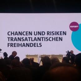 Ttip War Eines Der Zentralen Themen Des Spd-bundesparteitags 1000x