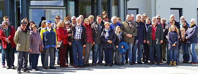 Teilnehmer am Besuch im Moor