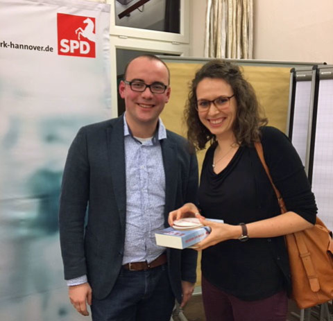 Ingo Estermann und Naemi Hüsemann