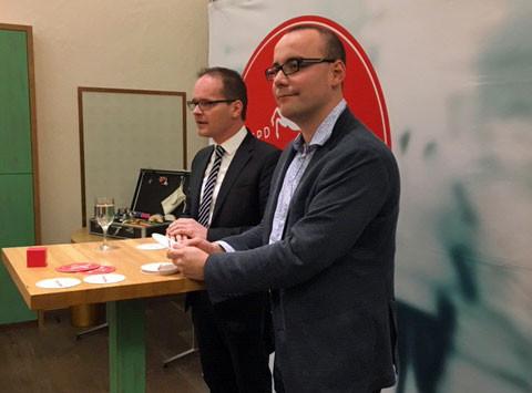Grant Tonne und Ingo Estermann