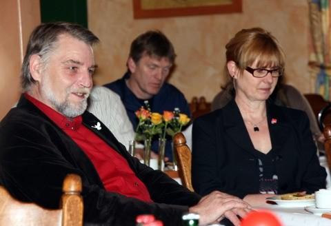 Foto: UB-Parteitag, MdL Axel Brammer, Luzia Moldenhauer