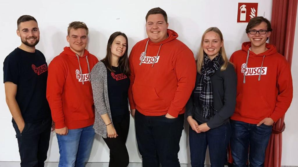 Jusos-Vorstand im Landkreis Diepholz