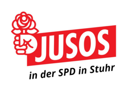 Logo Jusos Stuhr